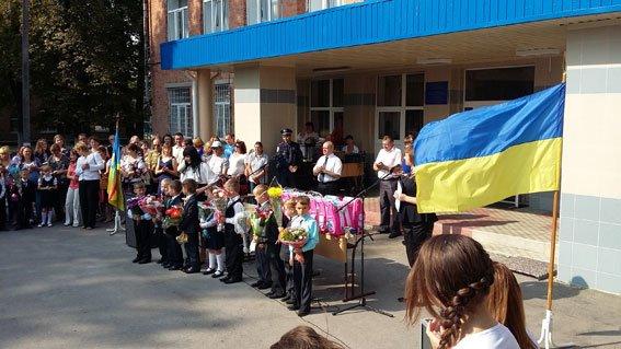 Міліціонери Конотопа відвідали 1-го вересня підшефну школу-інтернат (фото) - фото 1