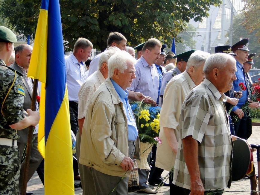 Відбулося урочисте вшанування подвигу українців у Другій світовій війні (Фото) (фото) - фото 3
