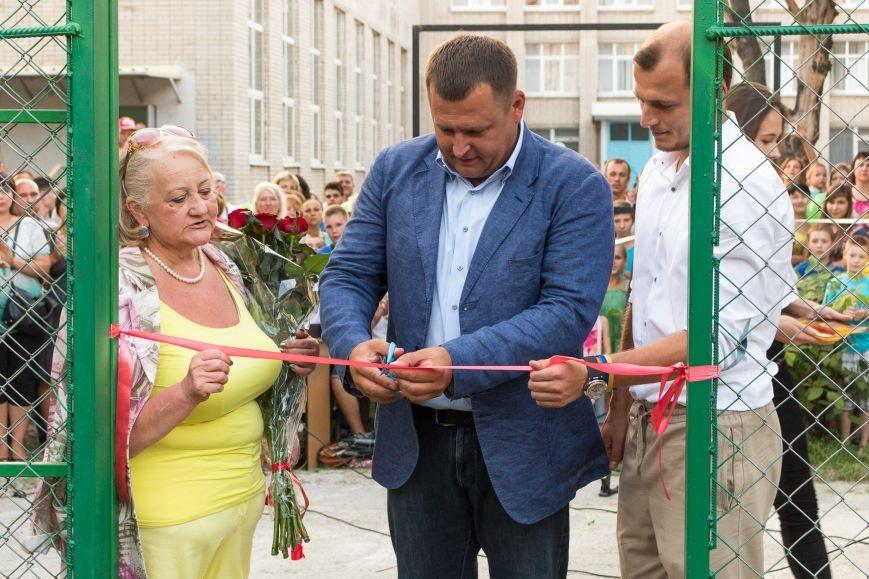 В жилмассиве Тополь открыли стадион имени Романа Шнейдермана, фото-1