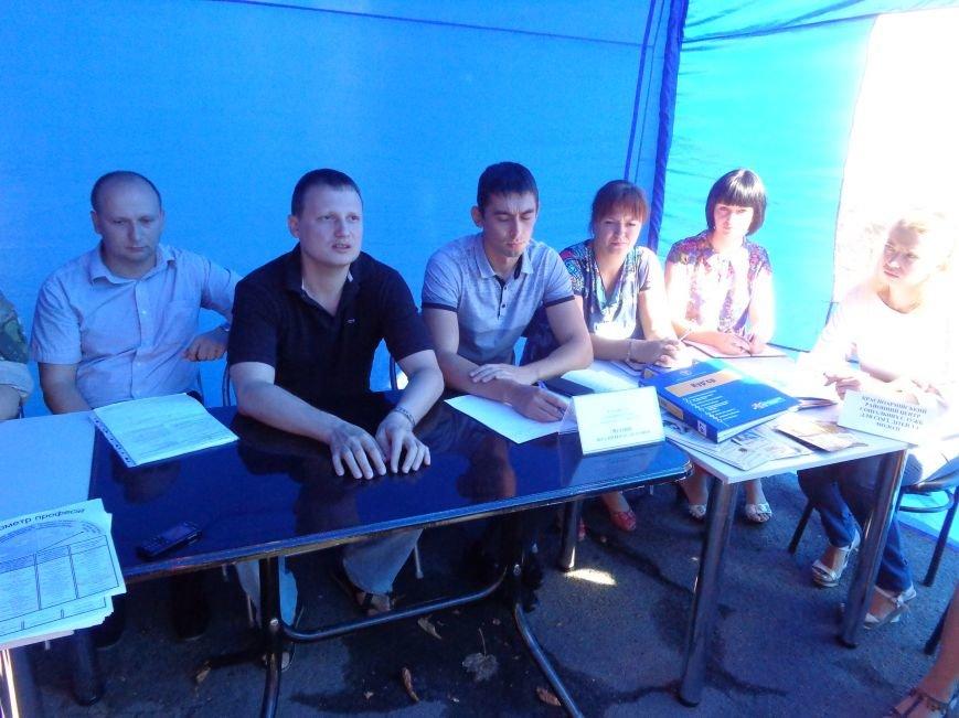 В Красноармейском центре занятости обсудили проблемы переселенцев и социальную политику (фото) - фото 2