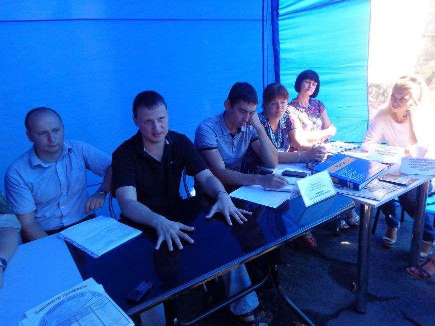 В Красноармейском центре занятости обсудили проблемы переселенцев и социальную политику (фото) - фото 4