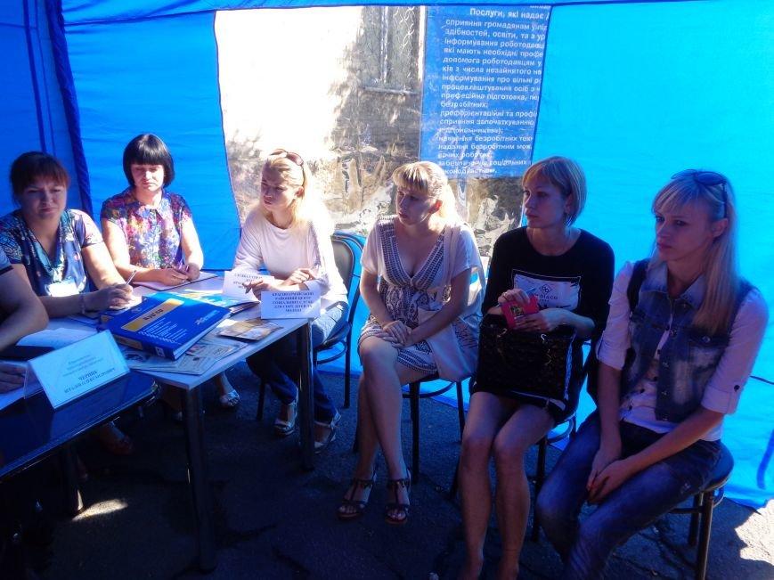 В Красноармейском центре занятости обсудили проблемы переселенцев и социальную политику (фото) - фото 1