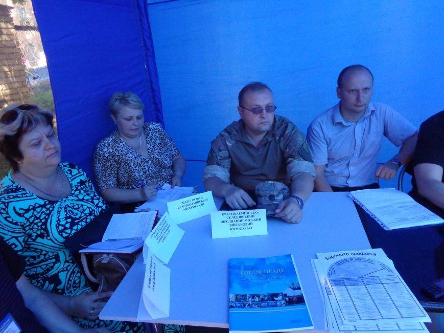В Красноармейском центре занятости обсудили проблемы переселенцев и социальную политику (фото) - фото 7
