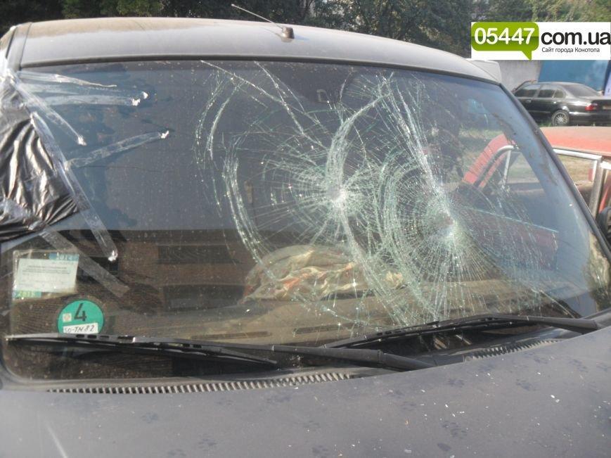 У Конотопському районі браконьєри розтрощили автівку активістів ГО «Клуб риболовів Конотопщини» (фото) - фото 1