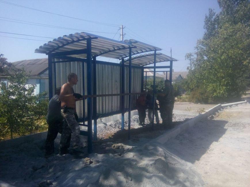 Мариупольцы вместе с «Азовом» восстанавливают Сартану (ФОТО) (фото) - фото 2