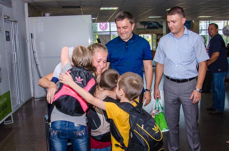 Четверо раненых в АТО детей вернулись с реабилитации в Литве (ФОТО) (фото) - фото 2