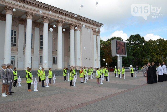 В центре Гродно почтят память детей, погибших в дорожных авариях (фото) - фото 4