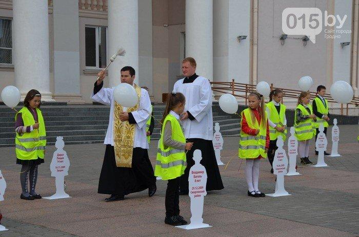В центре Гродно почтят память детей, погибших в дорожных авариях (фото) - фото 3