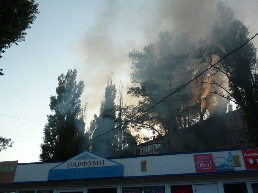Криворожские предприниматели молча смотрели, как в полуметре от их ларьков неизвестные устроили пожар (ФОТО) (фото) - фото 3