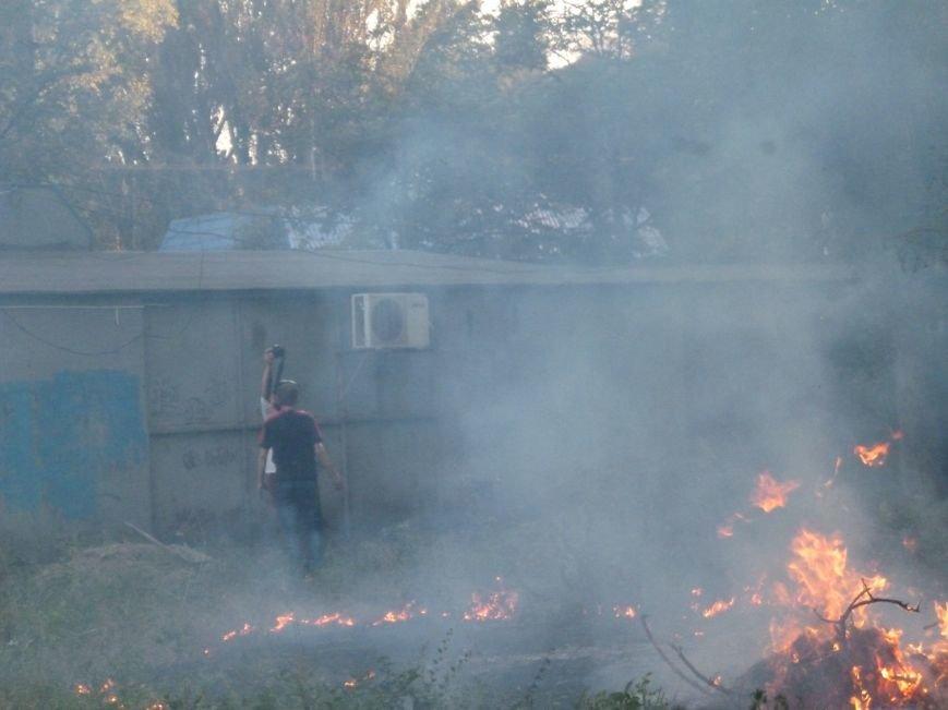 В Кривом Роге неизвестные подожгли сухостой и напали на фотокорреспондента, снимавшего происшествие (ФОТО) (фото) - фото 6