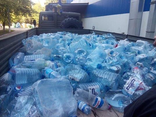 Собирая крышки на протезы для военных, Краматорск очищается от пластика, фото-2