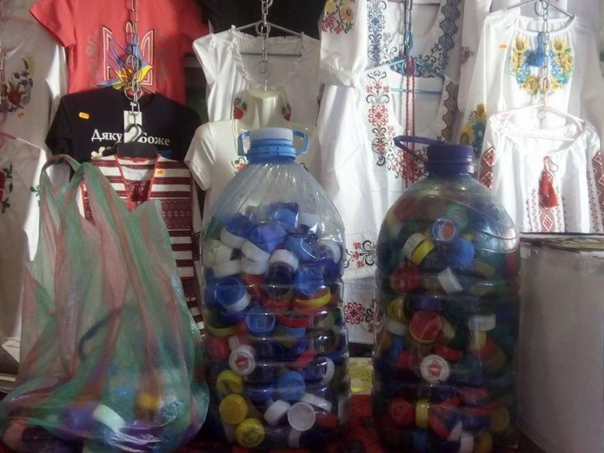 Собирая крышки на протезы для военных, Краматорск очищается от пластика, фото-1