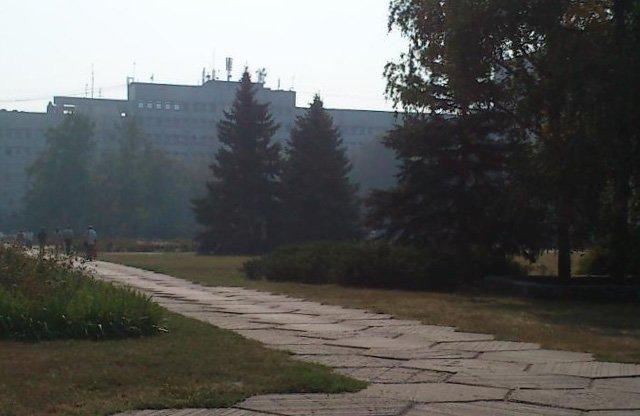 Кременчуг, как и часть всей Полтавской области накрыла дымовая завеса (ФОТО) (фото) - фото 2