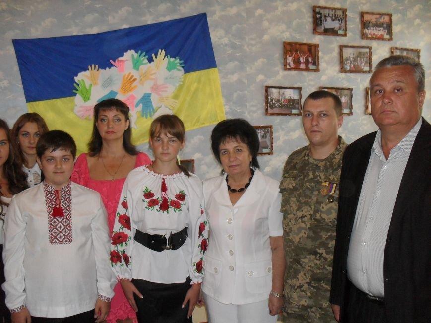 В школе №7 города Днепродзержинска создали уголок славы АТО (фото) - фото 9