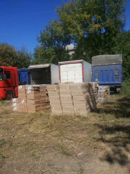 В Артемовском районе задержано 270 ящиков контрабандных сигарет (фото) - фото 1