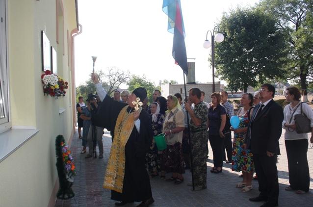 У Славуті для ще двох Героїв неоголошеної війни встановили пам'ятні дошки (фото) - фото 1