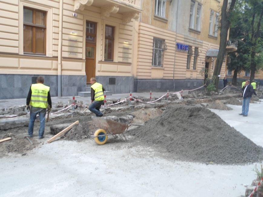 Як у Львові ремонтують вулицю Богомольця (ФОТО) (фото) - фото 1