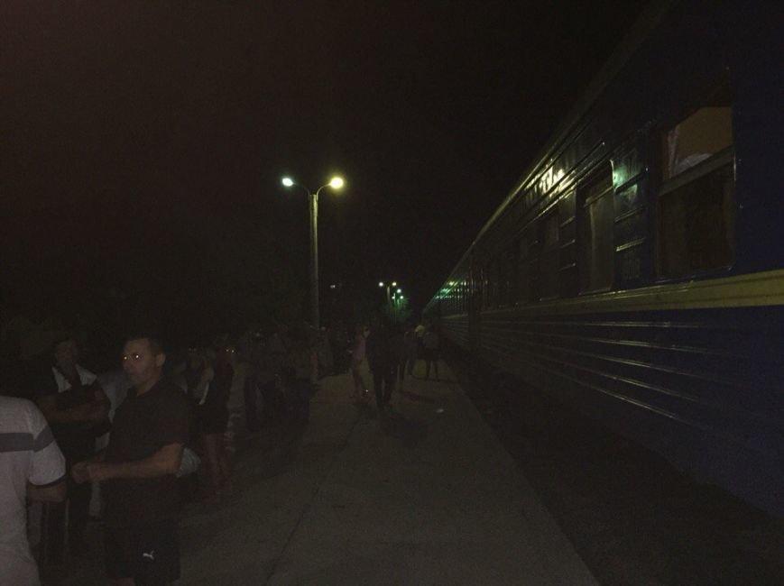 Поезд Запорожье-Одесса остановили из-за сигнала о минировании (ФОТО) (фото) - фото 3