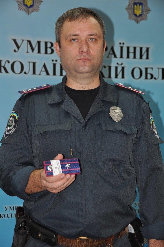 Аваков поощрил николаевского милиционера (ФОТО) (фото) - фото 1