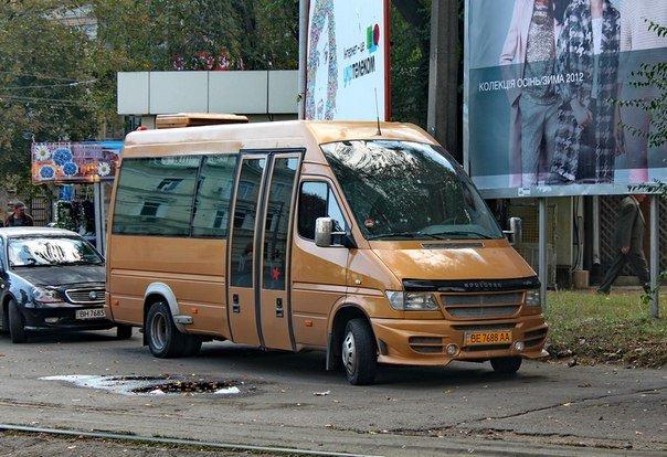 Николаевцев шокировала комфортная маршрутка на линии (ФОТО) (фото) - фото 1