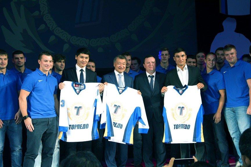 В юбилейный год клуба «Торпедо» презентовали новую команду в Усть-Каменогорске, фото-1