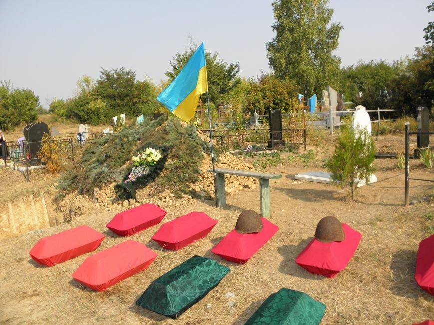 В Краматорске состоялось перезахоронение останков жителей Ясногорки, расстрелянных в годы войны (фото) - фото 2