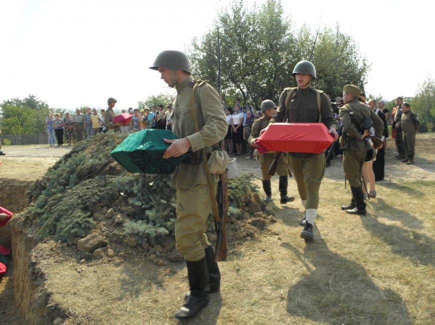 В Краматорске состоялось перезахоронение останков жителей Ясногорки, расстрелянных в годы войны (фото) - фото 10