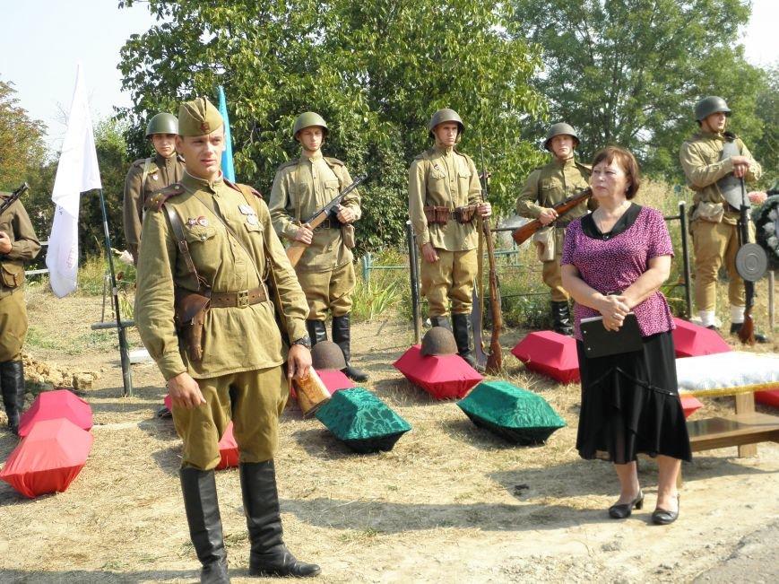 В Краматорске состоялось перезахоронение останков жителей Ясногорки, расстрелянных в годы войны (фото) - фото 1
