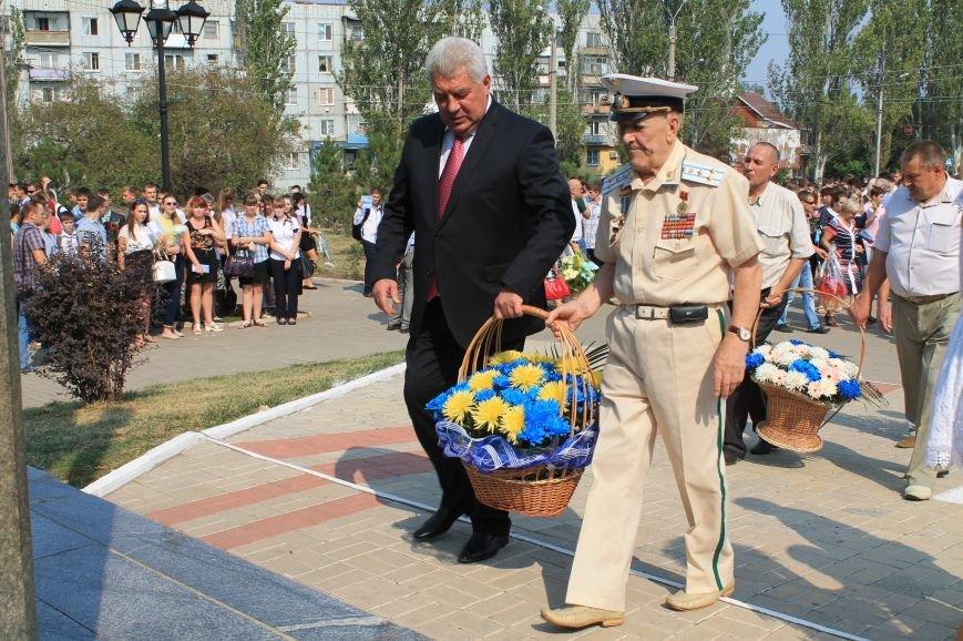 В Артемовске возложили цветы к памятнику Воину-освободителю  Донбасса, фото-3