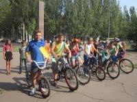 Краматорские школьники участвовали в велопробеге «Дети объединяют Украину» (фото) - фото 2