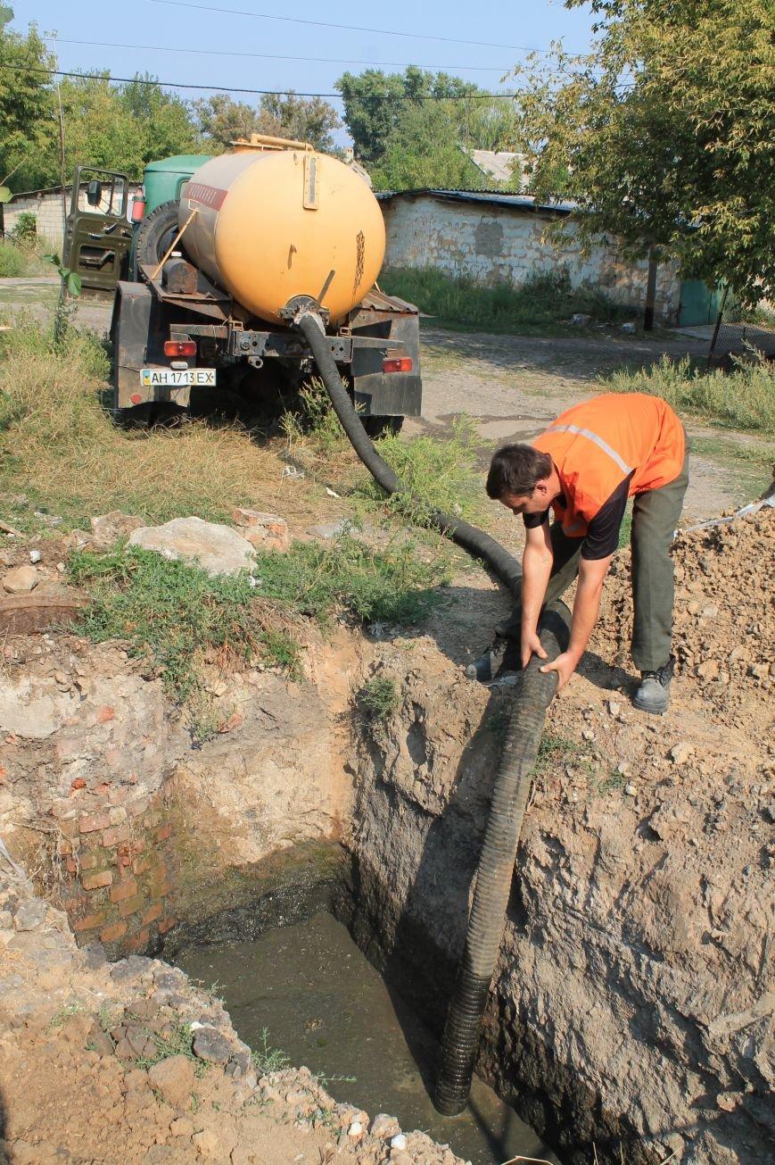 Бахмут-Вода проводит ремонтные работы в Соледаре. ФОТОФАКТ, фото-3