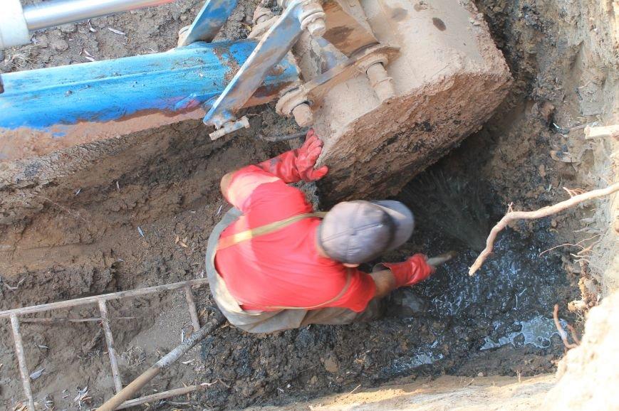 Бахмут-Вода проводит ремонтные работы в Соледаре. ФОТОФАКТ, фото-8