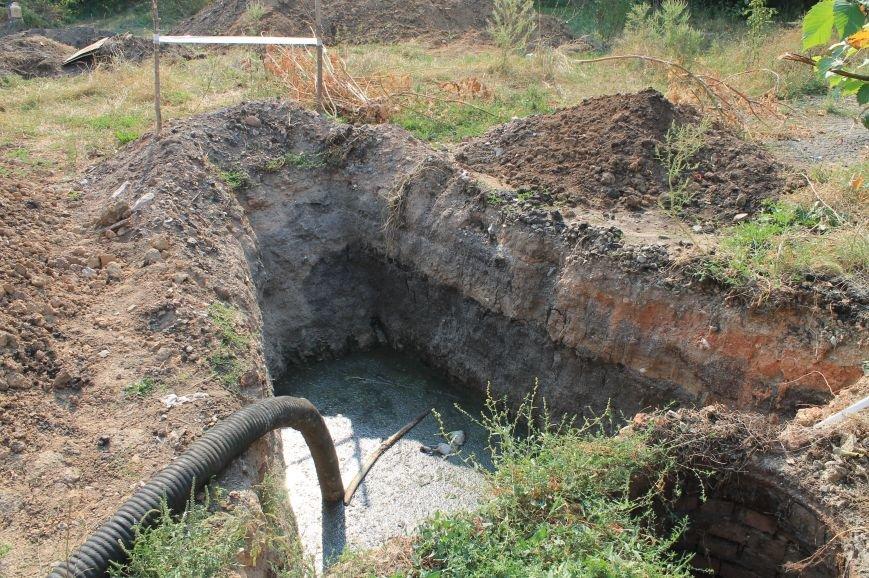 Бахмут-Вода проводит ремонтные работы в Соледаре. ФОТОФАКТ, фото-1