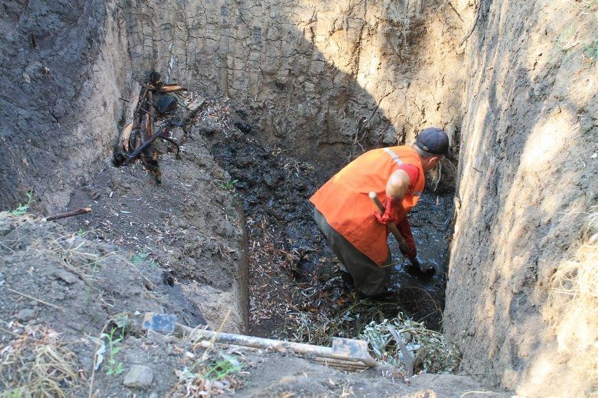 Бахмут-Вода проводит ремонтные работы в Соледаре. ФОТОФАКТ, фото-6
