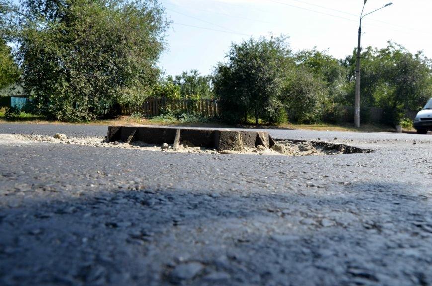 Полтавські відремонтовані дороги стають небезпечними для дорожнього руху. Фотофакт (фото) - фото 3