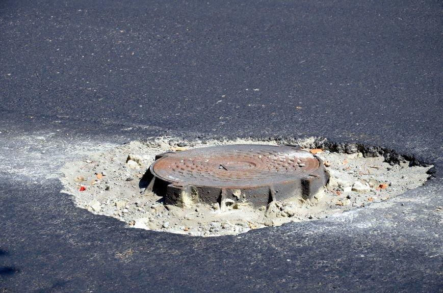 Полтавські відремонтовані дороги стають небезпечними для дорожнього руху. Фотофакт (фото) - фото 4
