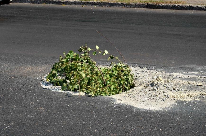 Полтавські відремонтовані дороги стають небезпечними для дорожнього руху. Фотофакт (фото) - фото 6