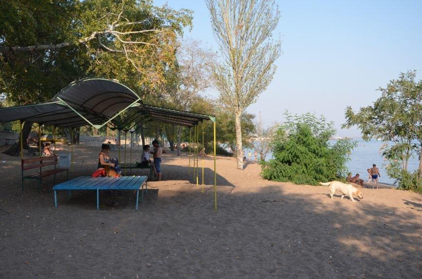 Мариупольцы наслаждаются последними теплыми деньками (ФОТО), фото-1