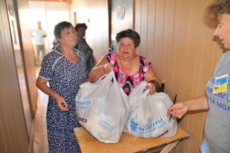 Прифронтовые поселки под Мариуполем получили гуманитарную помощь, фото-3