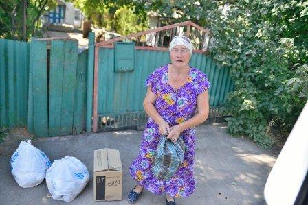 Прифронтовые поселки под Мариуполем получили гуманитарную помощь, фото-1