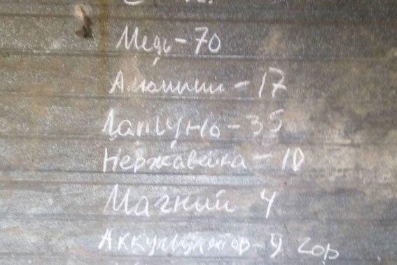 На Полтавщині чоловік облаштував незаконний пункт прийому металобрухту (фото) - фото 2