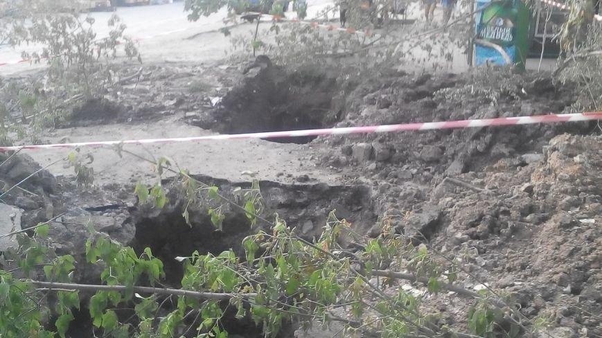 В Запорожцы жители многоэтажек выстроились в очередь за водой (ФОТО) (фото) - фото 1