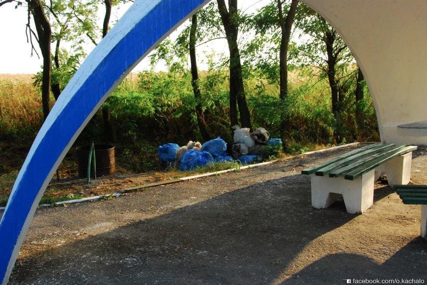 Купу сміття при в'їзді в Тернопільську область... переховали, фото-3