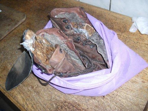 В Сумской исправительной колонии в зимних ботинках пытались передать наркотики (ФОТО) (фото) - фото 1