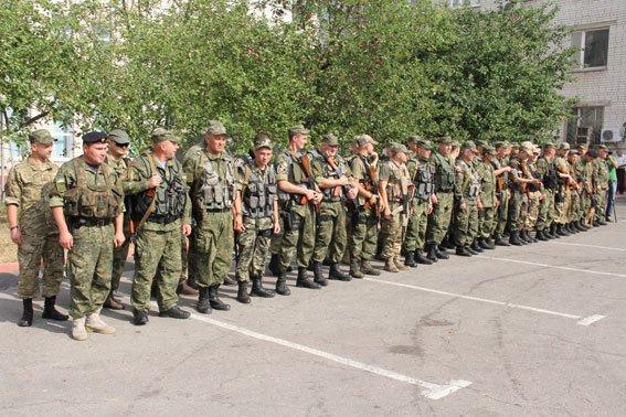 Батальон «Чернигов» снова отправился на Донбасс (фото) - фото 1
