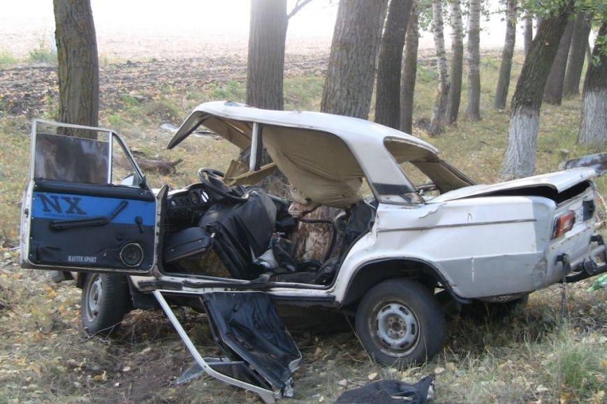 Под Белгородом пьяный водитель, скрываясь от полицейских, попал в ДТП, погибла 17-летняя девушка (фото) - фото 1