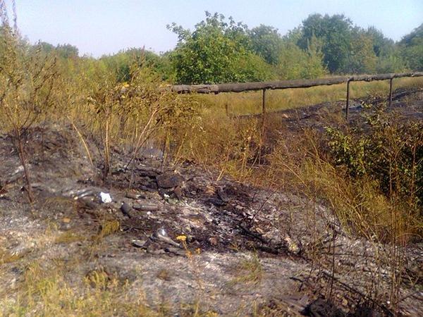В Донецке горела Лидиевская нефтебаза (ФОТО) (фото) - фото 1