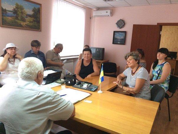 Мэр Белозерского пообещал переселенцам социальное жилье, фото-3