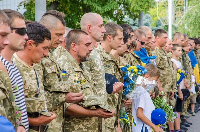 На Днепропетровщине встретили демобилизованных бойцов 43-го батальона (фото) - фото 12