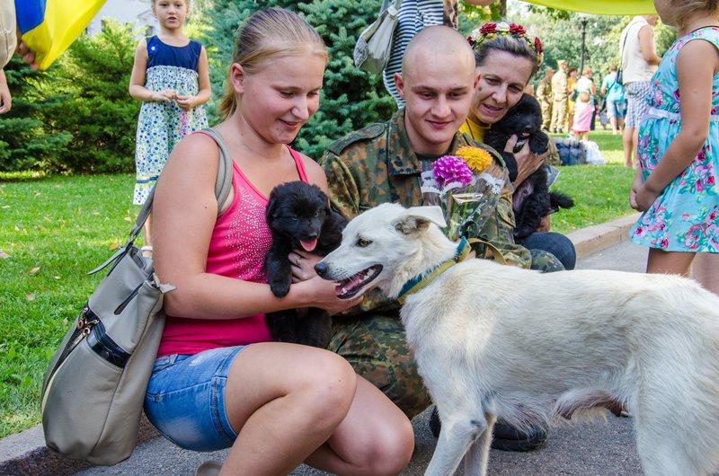 На Днепропетровщине встретили демобилизованных бойцов 43-го батальона (фото) - фото 15